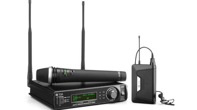 TOA D-5000 Mikrofonsystem