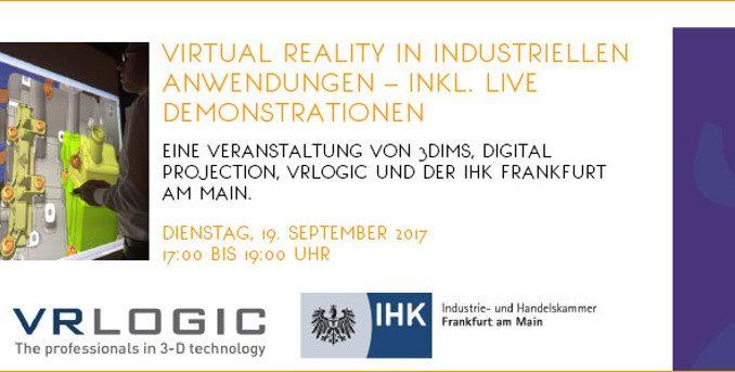 Virtual Reality in industriellen Anwendungen