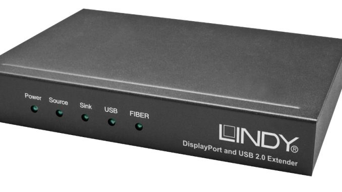 Lindy KVM DisplayPort Extender