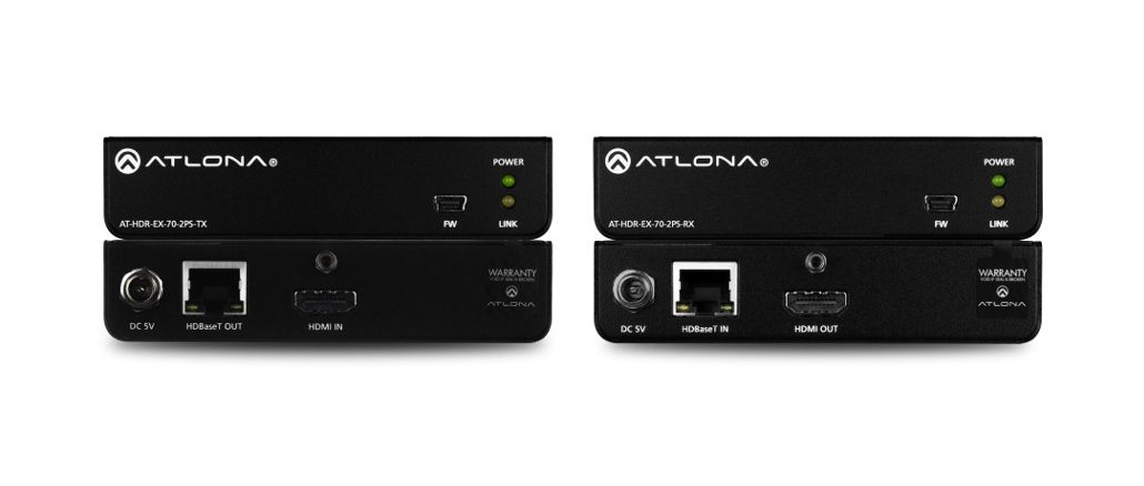 AT-HDR-EX-70-2PS Extender von Atlona