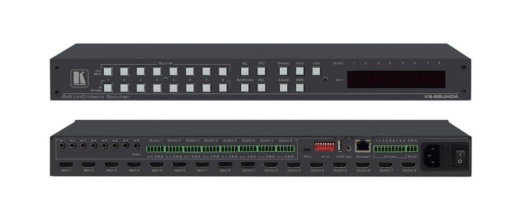 VS-88UHDA HDMI-Matrixschalter von Kramer