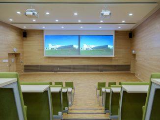 Hörsaal der SLK-Kliniken