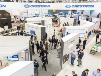Crestron Messestand ISE