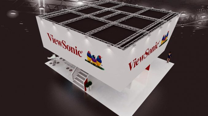 ViewSonic Messestand ISE 2018