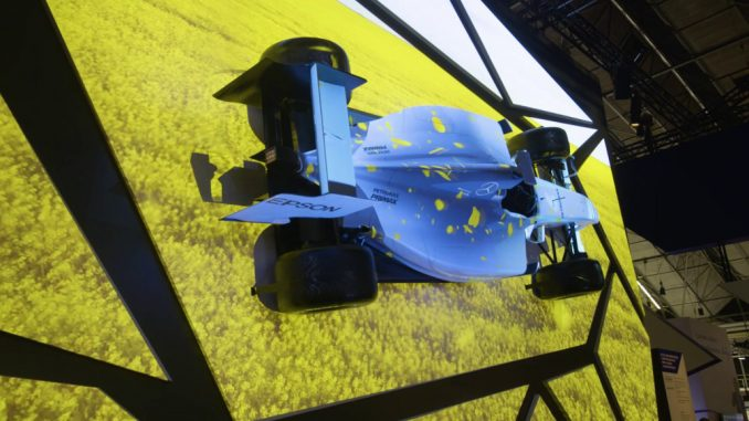 Projection Mapping von Epson