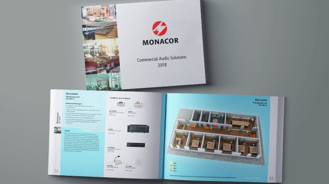 Commercial Audio Solutions von Monacor