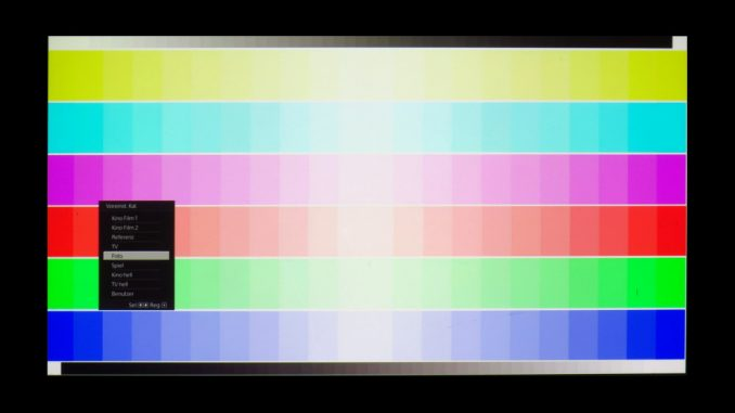 Testbild 1: Sony VPL-VW360ES