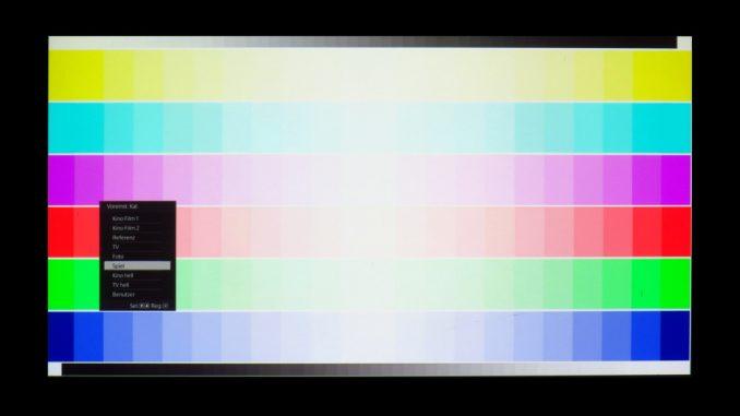 Testbild 2: Sony VPL-VW360ES