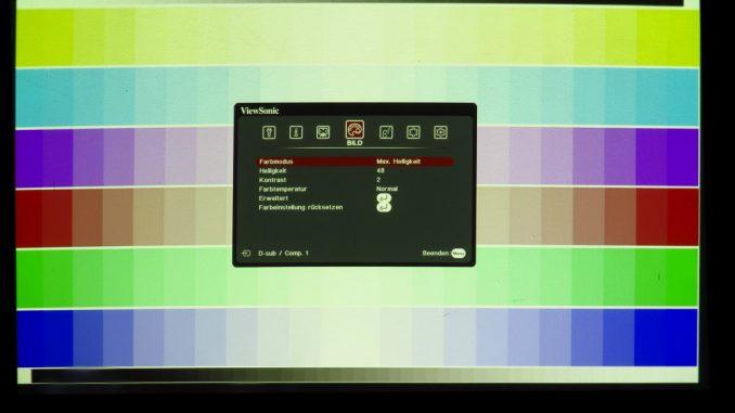 Testbild 3: ViewSonic LS830