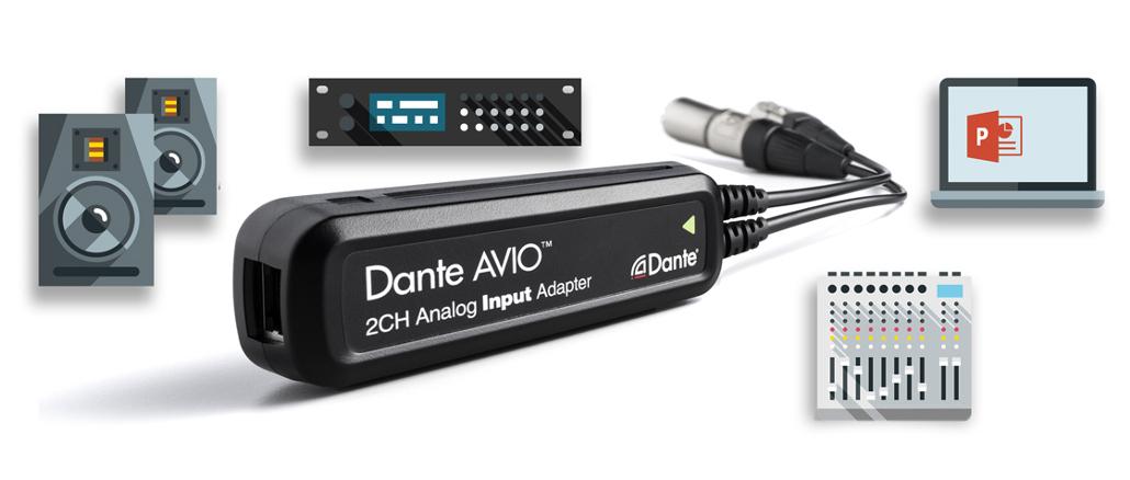 AVIO-Adapter von Audionate
