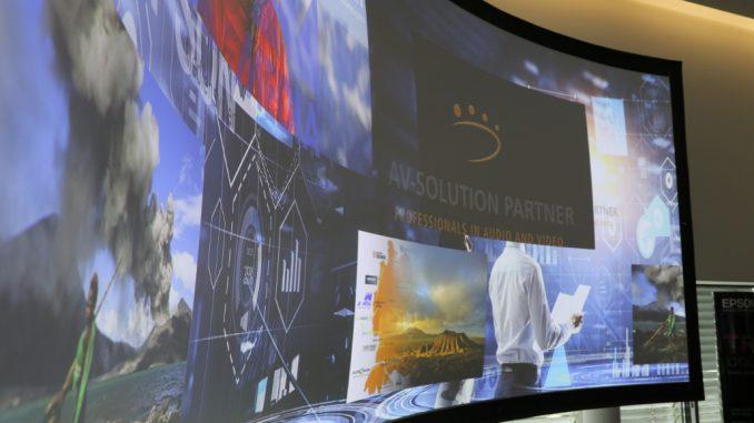 """Sehen und Emotion""-Roadshow AV Solution Partner 2018"