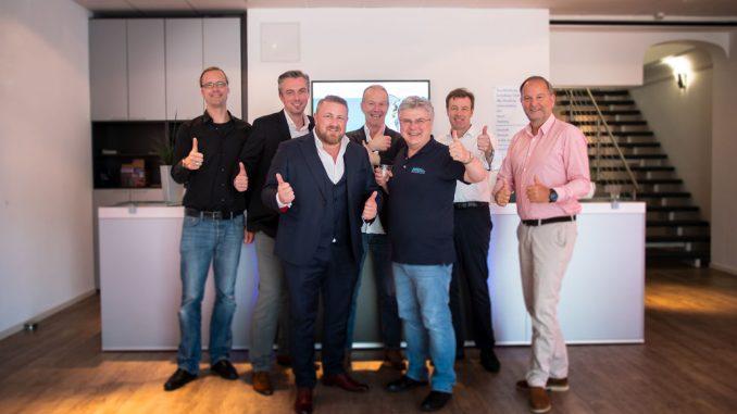 Team von G+B und Hamburg Showtechnik