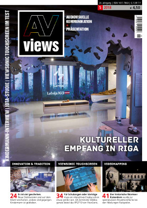 AV-views 5-18 Titelseite