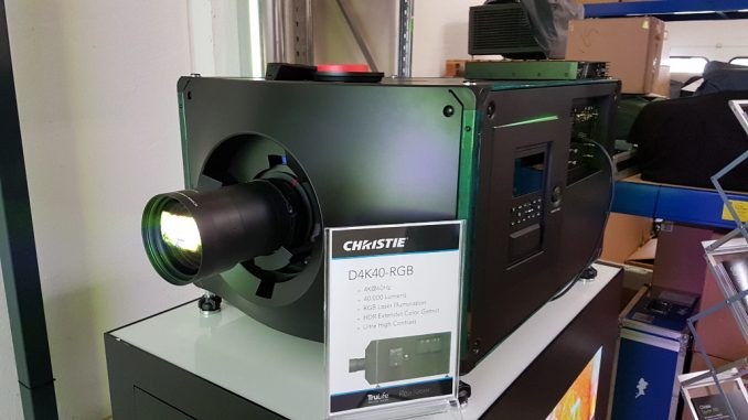 D4K40-RGB Laserprojektor von Christie