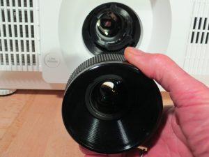 Objektivwechsel beim LP-WU6600