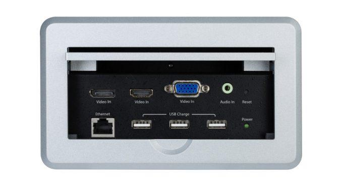 Tischanschlussfeld StarTech BOX4HDECP2.D
