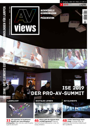 AV-views 1-19 Titelseite