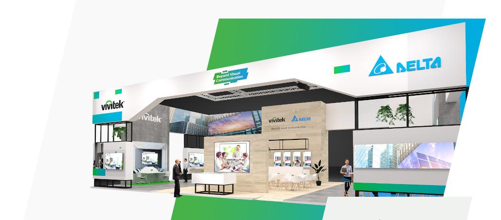 Vivitek/Delta Messestand ISE 2020