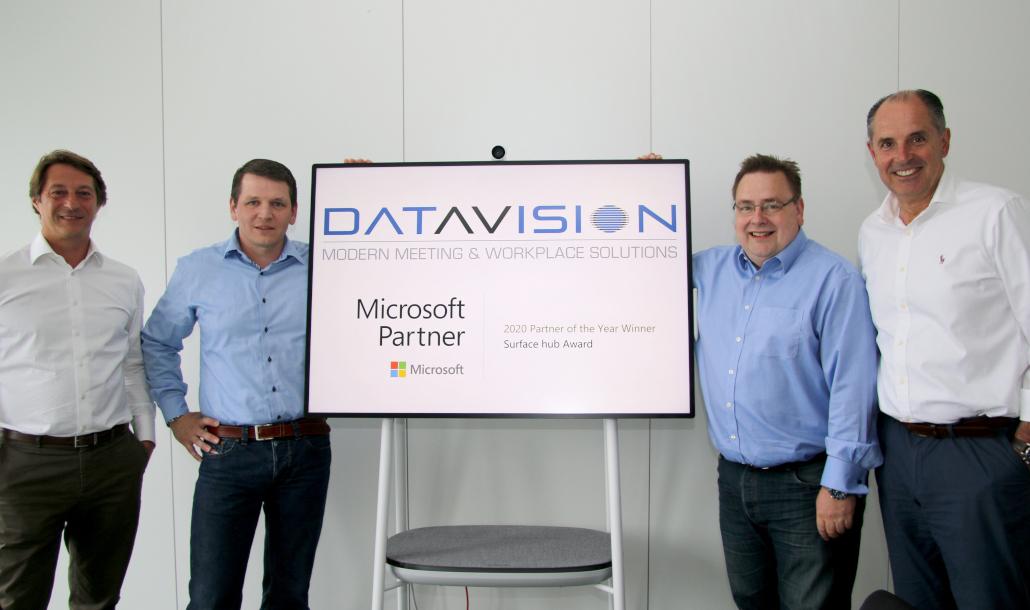 DataVision-Team mit Microsoft-Auszeichnung