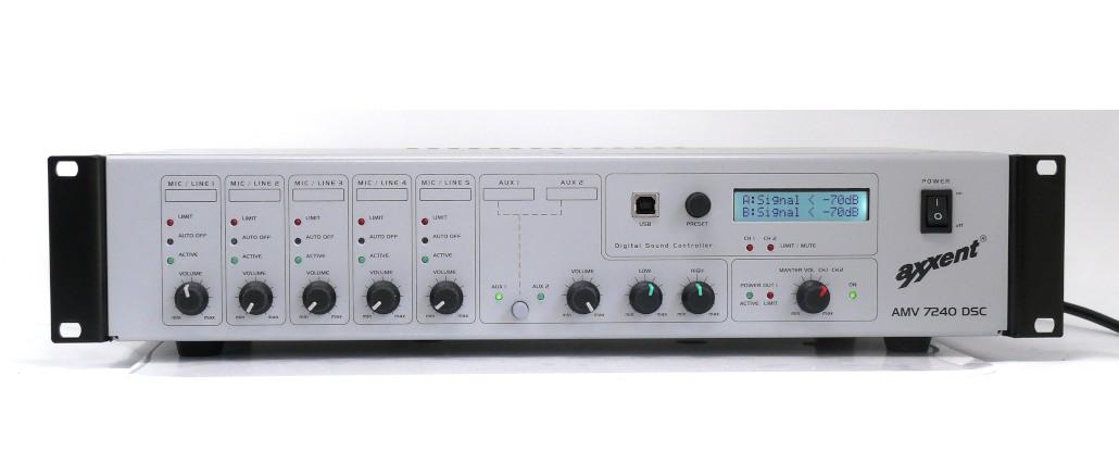 Mischverstärker Axxent AMV7240DSP