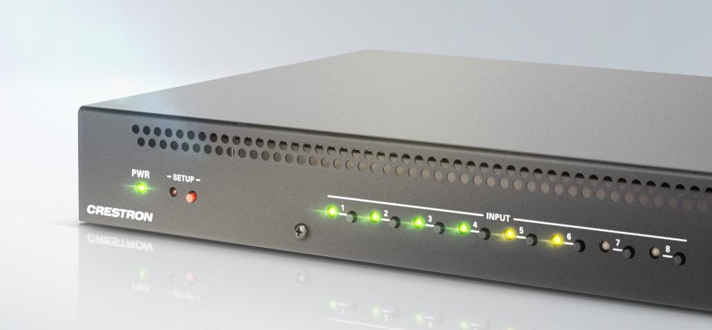 HDMI-Switcher DM-4KZ von Crestron
