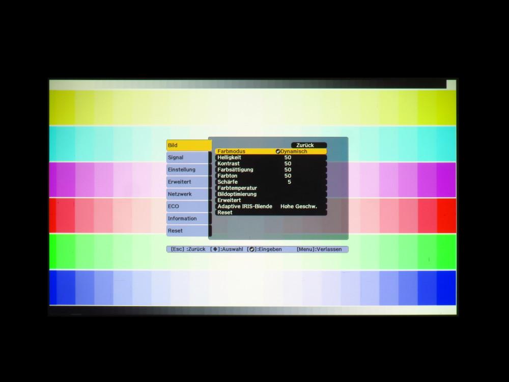 Testbild 3: Epson EF1795F