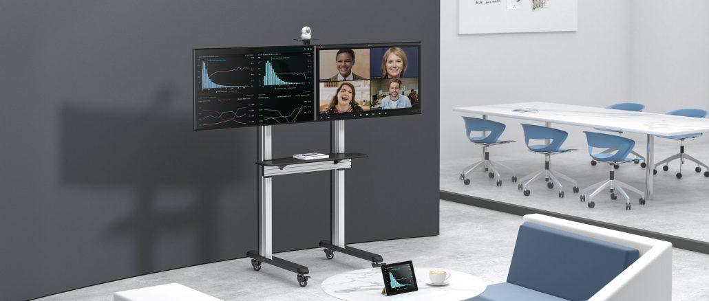 TV Stand 55VCD-Shelf