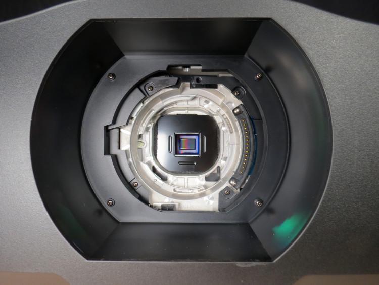 Blick ins Innere des NEC PA804UL