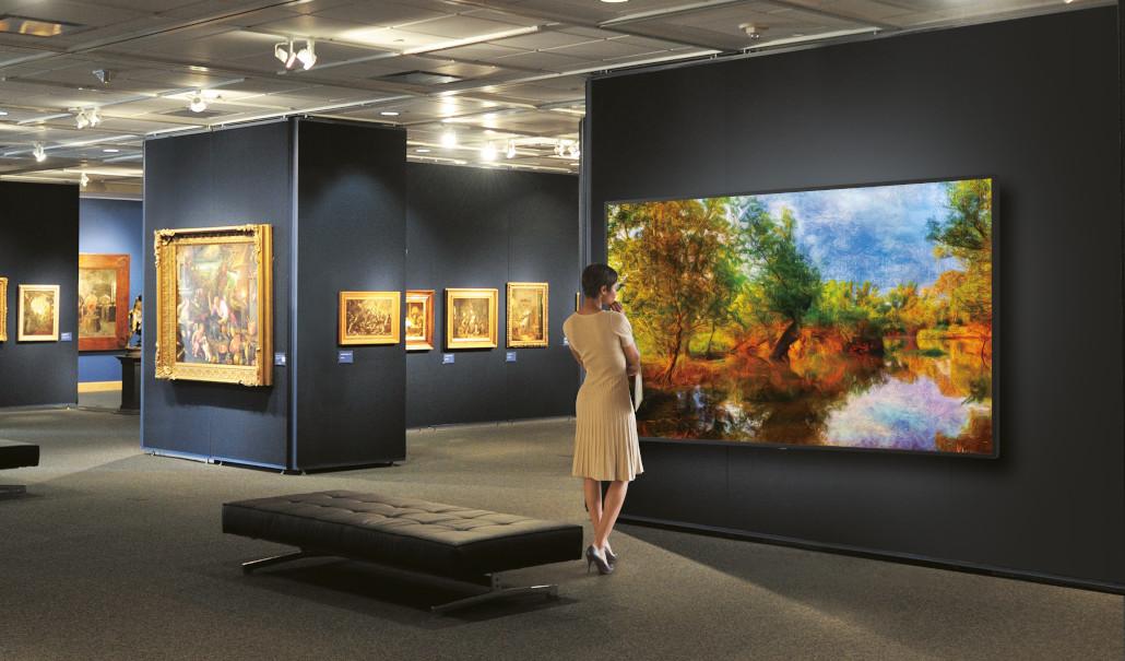 8K-Display im Museum