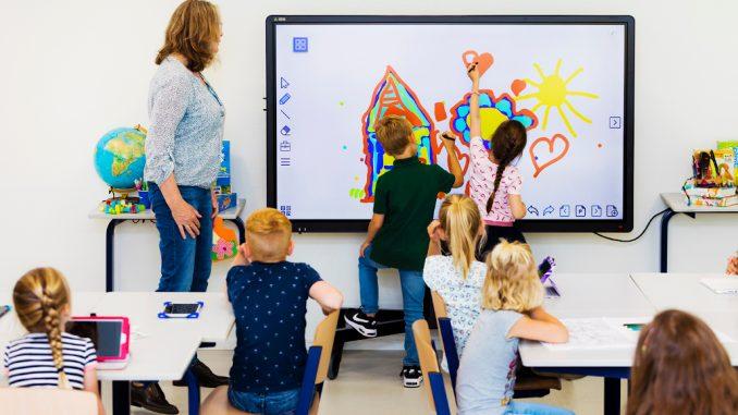 CTouch Touchscreen in der Grundschule