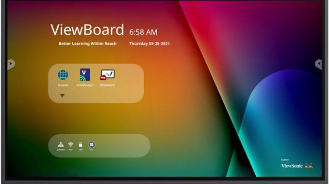 Interaktives Display IFP6532 von ViewSonic